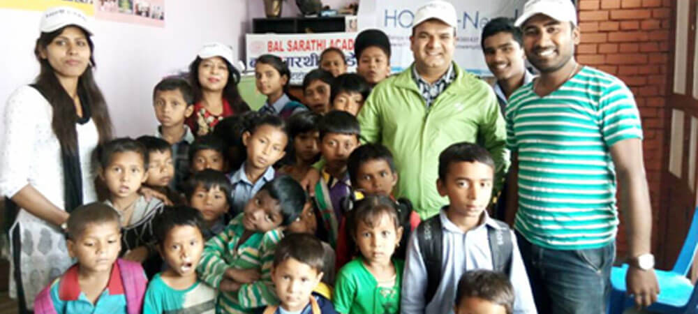 HOMES-Nepal supported Students at Bal Sarathi Academy, Kathmandu
